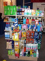 Hotel Supplies Merchandising Displays