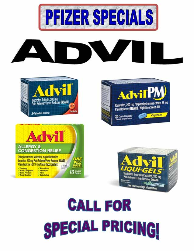 Advil Allergy and Congestion Relief
