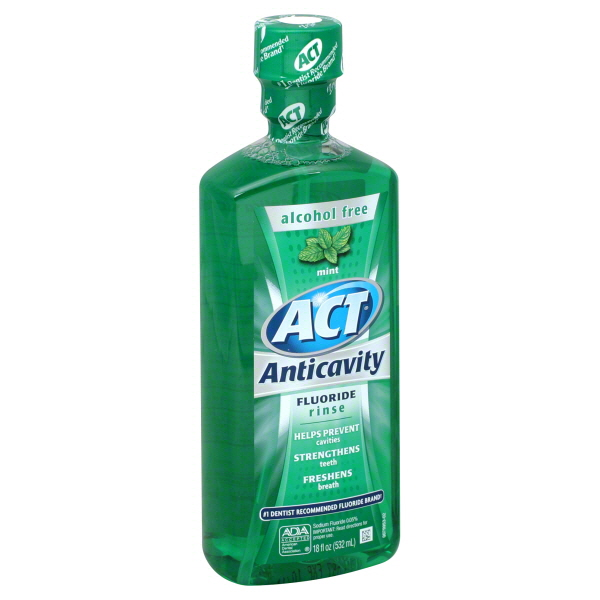 Wholesale Act Mint Mouthwash 18 Oz