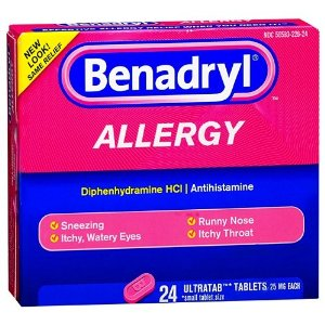 Wholesale Benadryl Allergy Ultra Tablets 24 Count