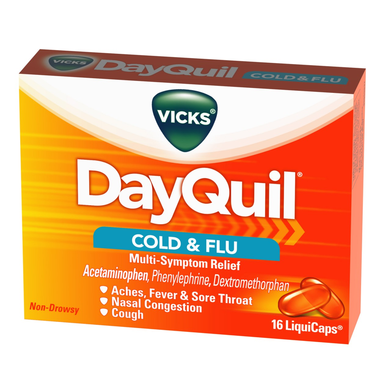 Wholesale Dayquil Liquicap 16 Count