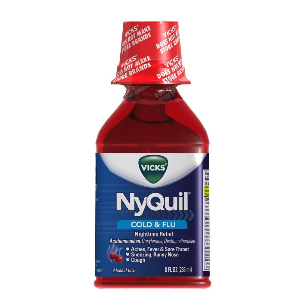 Wholesale Nyquil Cherry Liquid 8 Oz