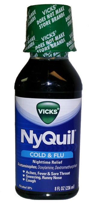 Wholesale Nyquil Original Liquid 8 Oz