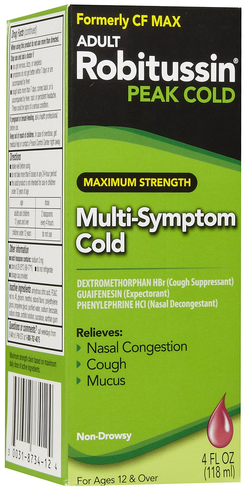 Wholesale Robitussin Nite Time Max. Strength Dm 4 Oz